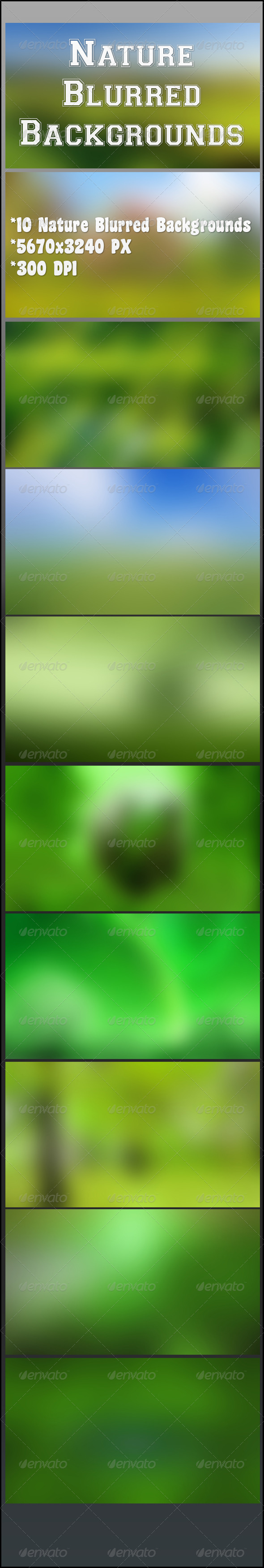 GraphicRiver Nature Blurred Background 8132547