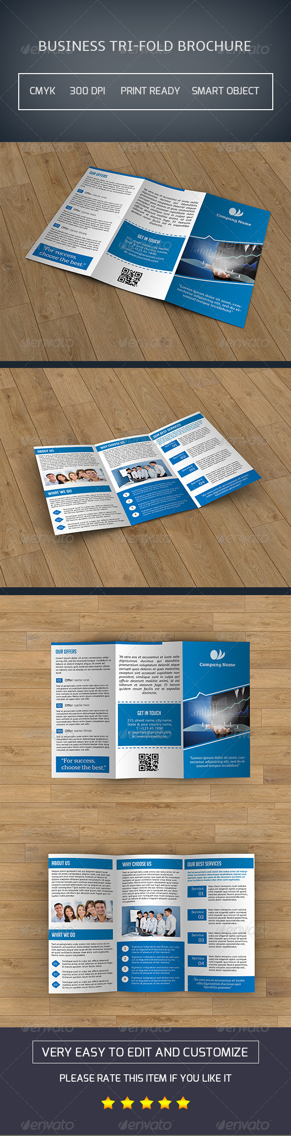 GraphicRiver Business Trifold Brochure-V25 8141227