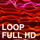Red Curly Flowing Lines - VideoHive Item for Sale