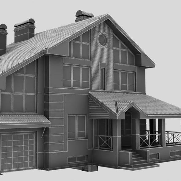 3DOcean house 618 53-74 8141617