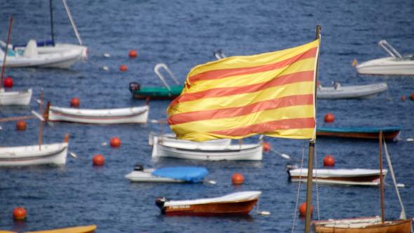 Catalonia Flag 01