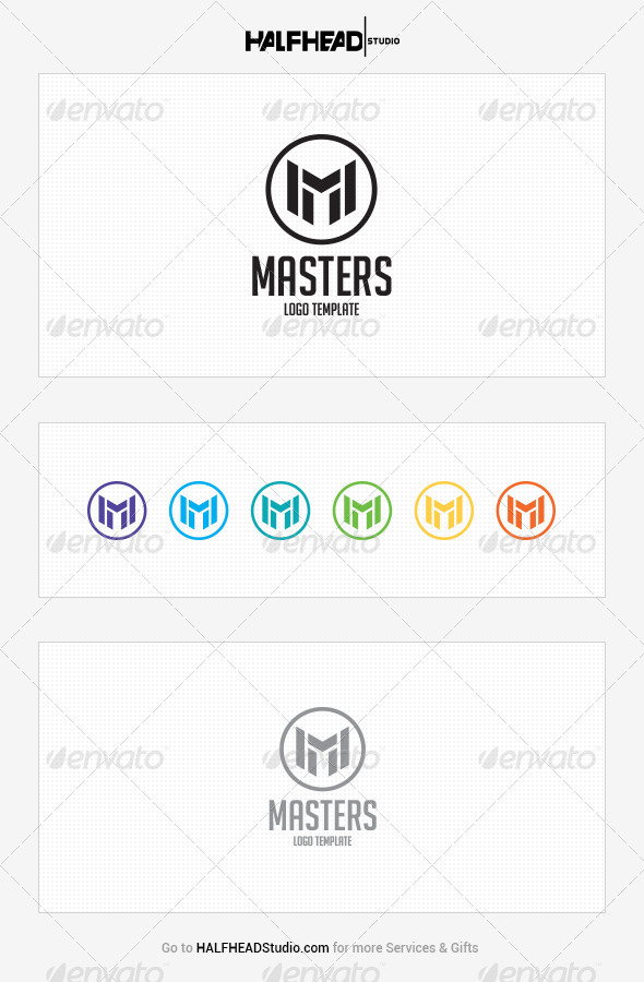 GraphicRiver Masters Logo Template 8141954