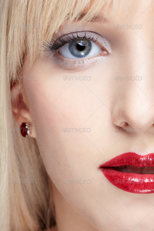 woman with healthy skin - Stock Photo - Images