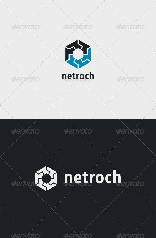 GraphicRiver Netroch Logo 8142199