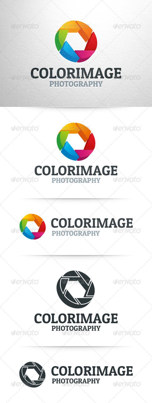 GraphicRiver Color Image 3D Shutter Logo 8142258