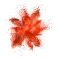 Color powder explosion isolated on white - PhotoDune Item for Sale