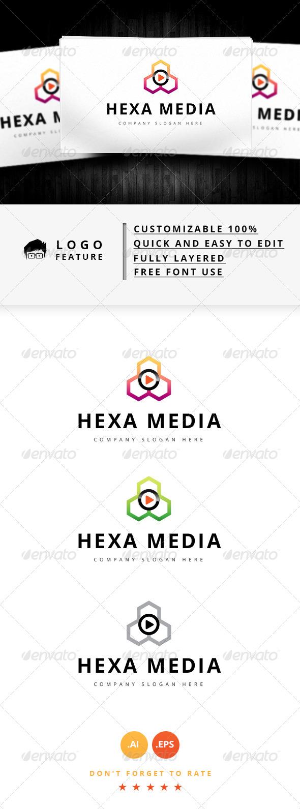 Hexa Media Logo