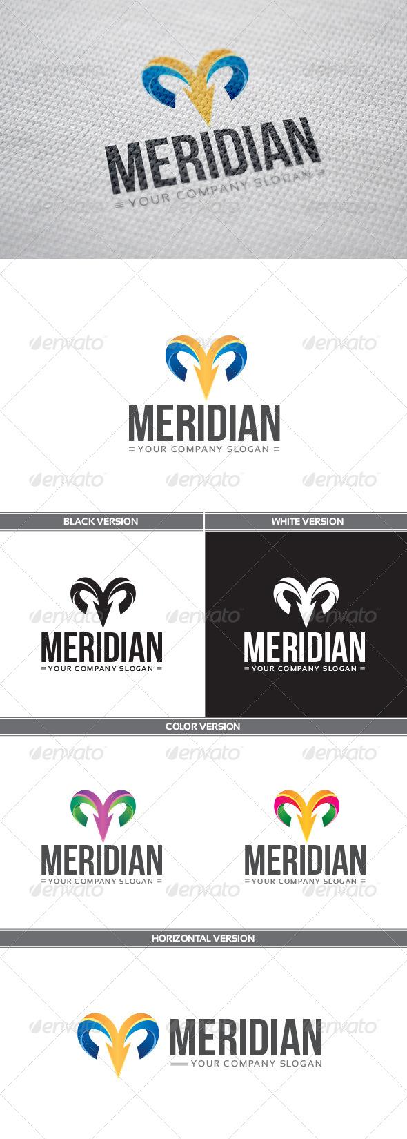 GraphicRiver Meridian Logo 8142693