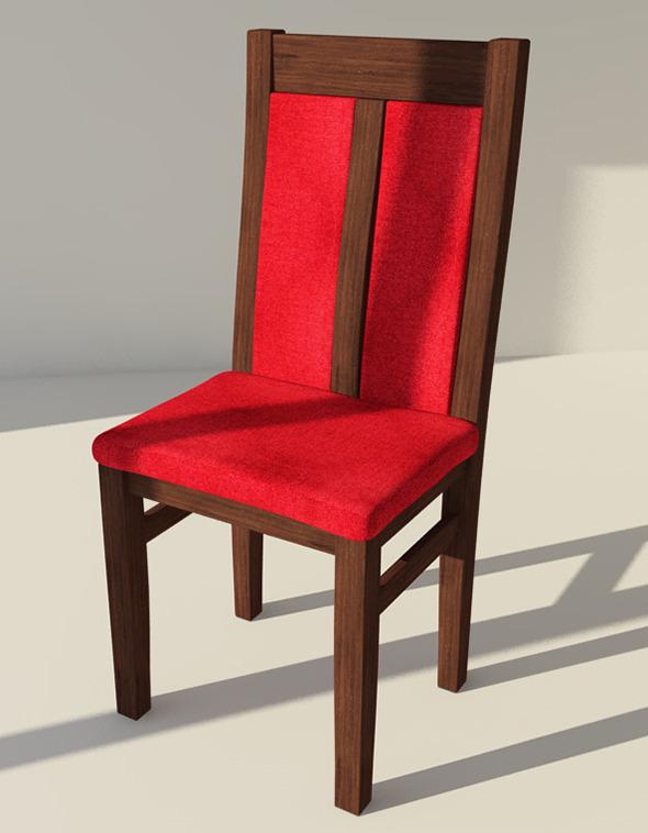 3DOcean Chair Model CH-1 8142958