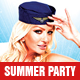 Hot Summer Party Flyer - GraphicRiver Item for Sale