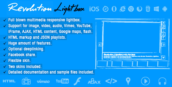 CodeCanyon Revolution Lightbox 8143017