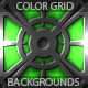 12 Color Metal Grid Backgrounds (vol 3) - GraphicRiver Item for Sale