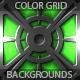 12 Color Metal Grid Backgrounds (vol 3) - GraphicRiver Item for Sale
