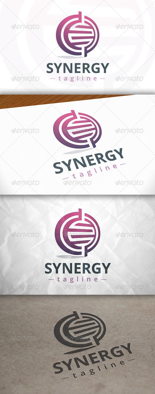GraphicRiver Synergy Logo 8143403
