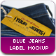 Jeans Label Mockup - GraphicRiver Item for Sale