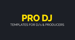 Pro DJ Business Cards & Print Templates