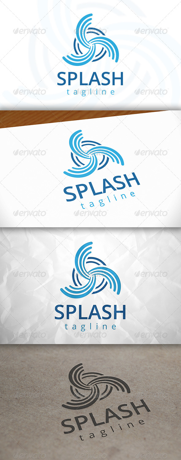 GraphicRiver Splash Logo 8144184
