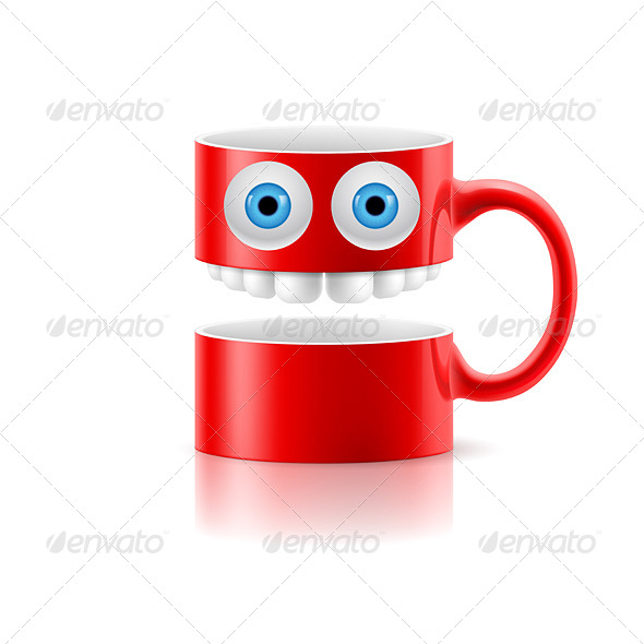 GraphicRiver Cartoon Mug 8145306