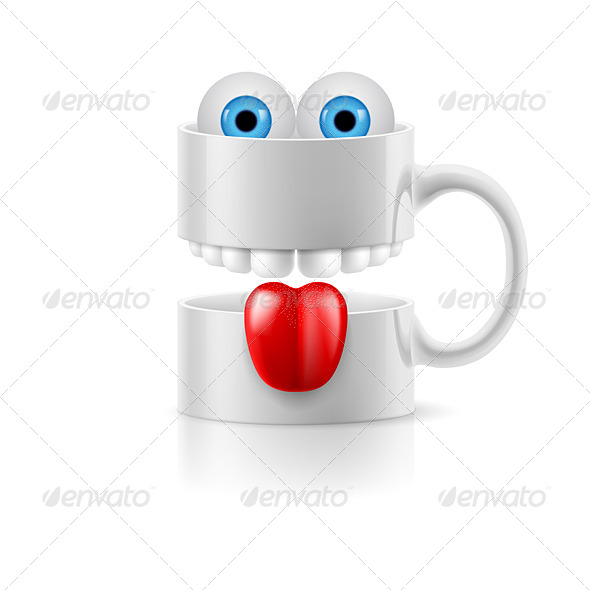 GraphicRiver Cartoon Mug 8145336
