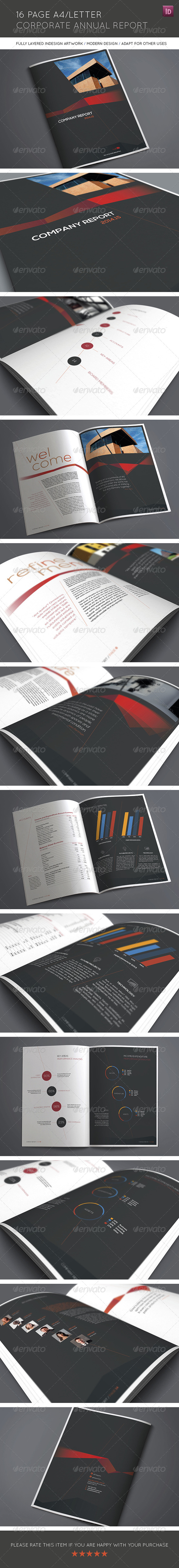 GraphicRiver 16 Page A4 Letter Corporate Annual Report 8145506