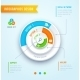 Circle Graph Infographics - GraphicRiver Item for Sale