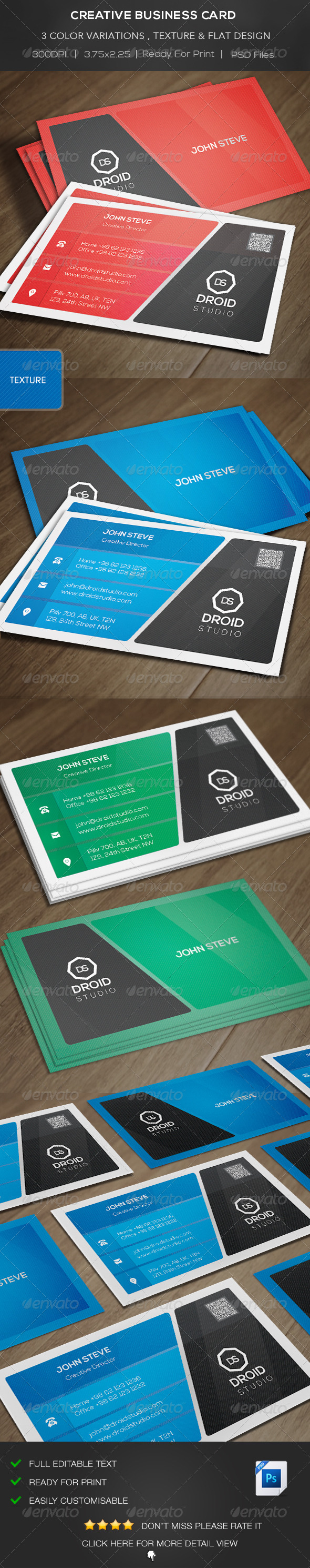 GraphicRiver Creative Business Card 8145753