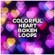 Colorful Heart Bokeh Loops (5-Pack) - VideoHive Item for Sale