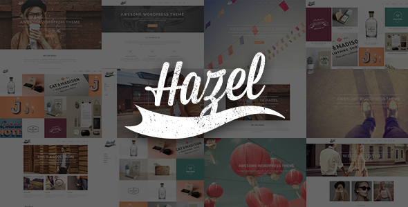 ThemeForest Hazel Multi-Concept Creative WordPress Theme 8146099