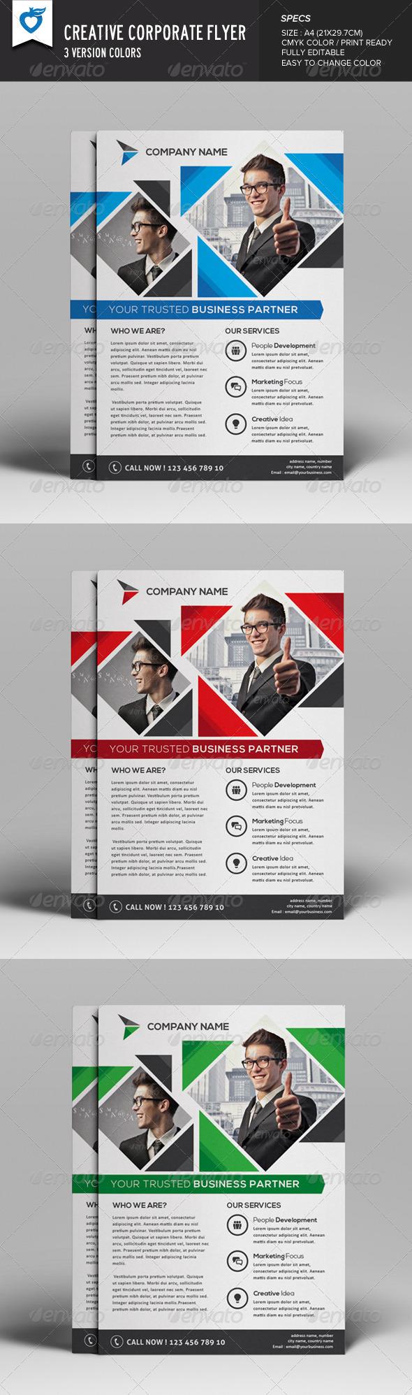 GraphicRiver Creative& Corporate Flyer 8146141