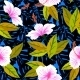 Tropical Pattern with Hibiscus Flowers - GraphicRiver Item for Sale