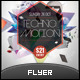 Techno Motion Futuristic Flyer - GraphicRiver Item for Sale