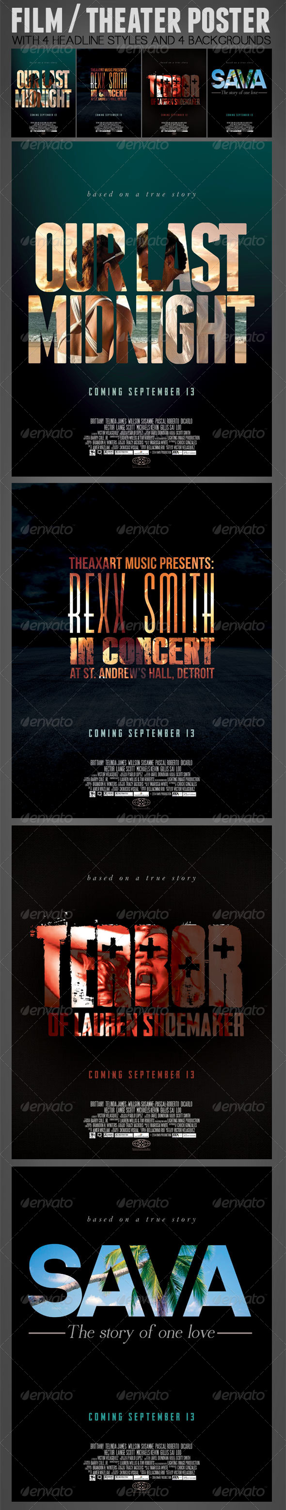 GraphicRiver Film or Theater Poster 8146282