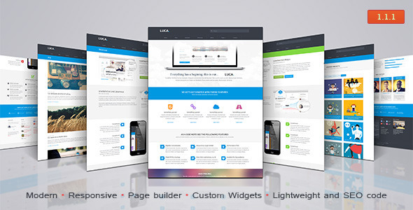 Luca - Premium Wordpress Theme - Business Corporate