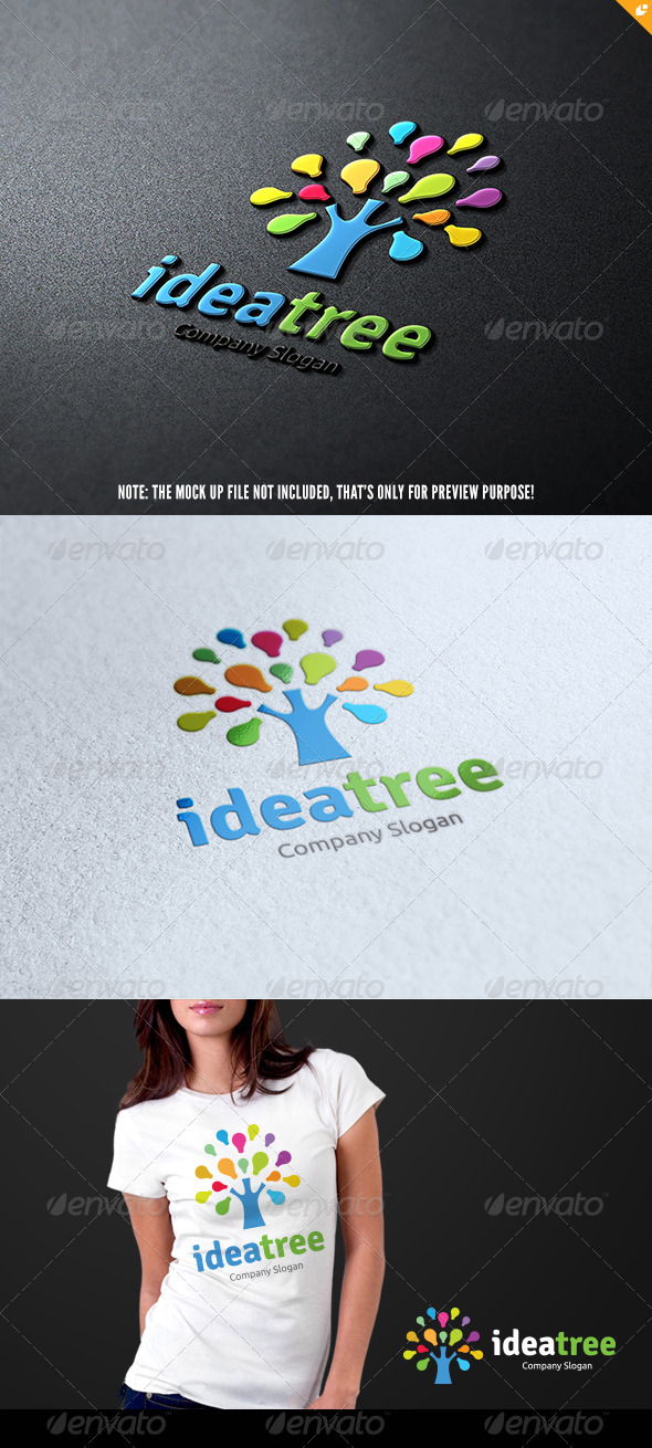 GraphicRiver Idea Tree 8146999