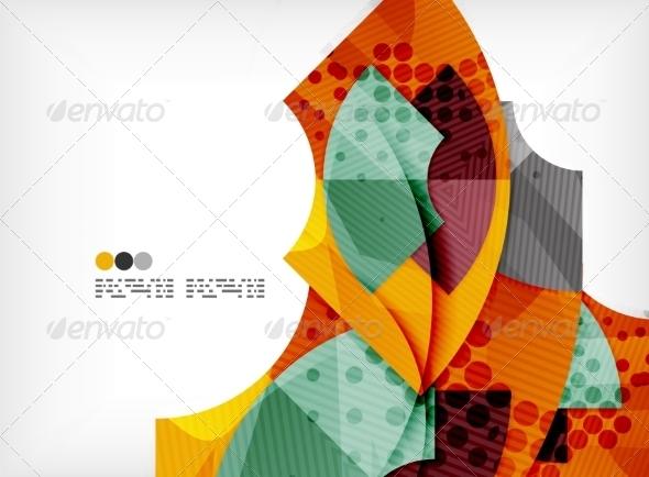 GraphicRiver Futuristic Abstract Composition 8147000