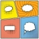 Blank Speech Bubbles - GraphicRiver Item for Sale