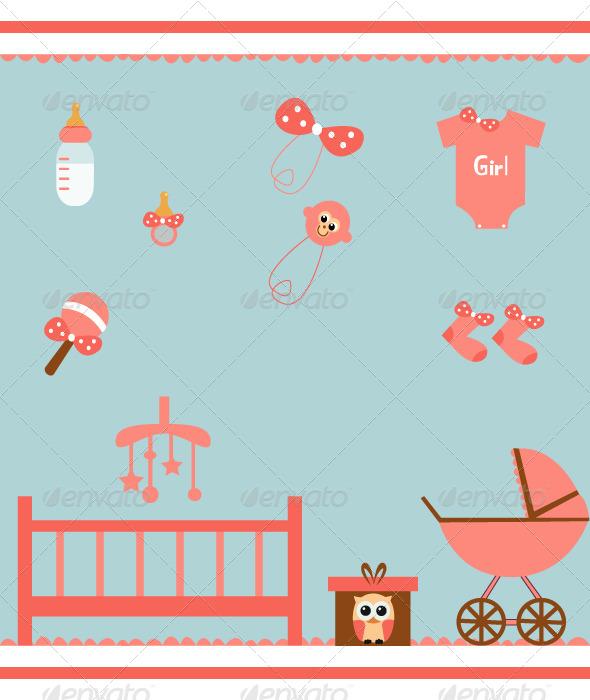 GraphicRiver Baby Set 8147301