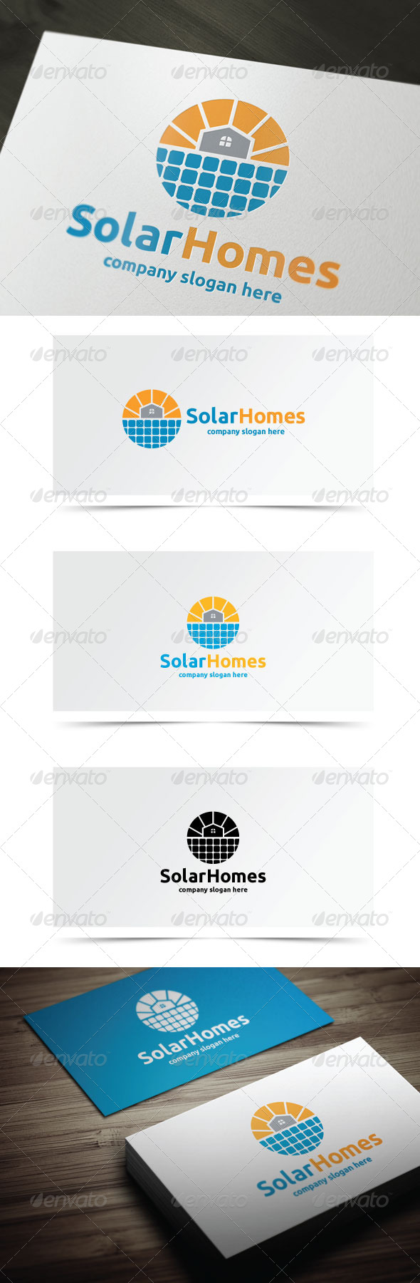 GraphicRiver Solar Homes 8148177