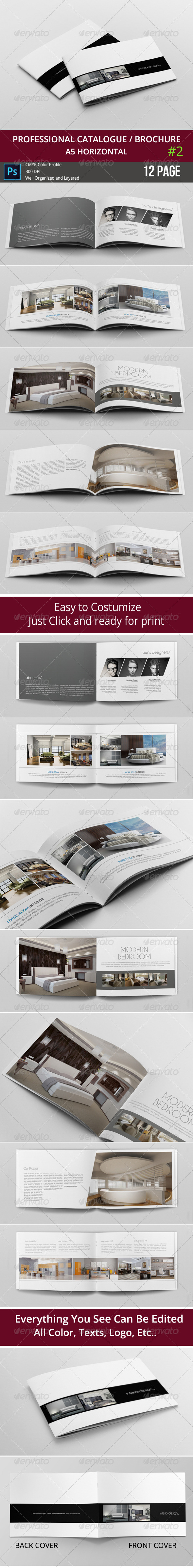GraphicRiver Simple & Clean A5 Catalogue 2 8148203