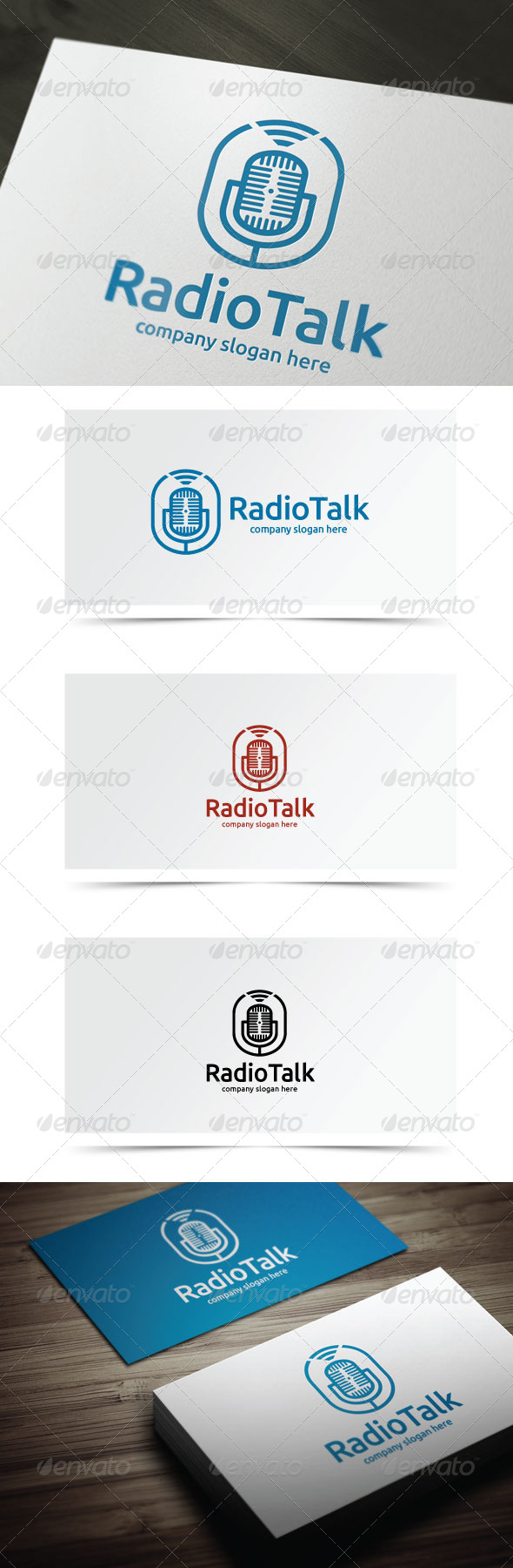GraphicRiver Radio Talk 8148227