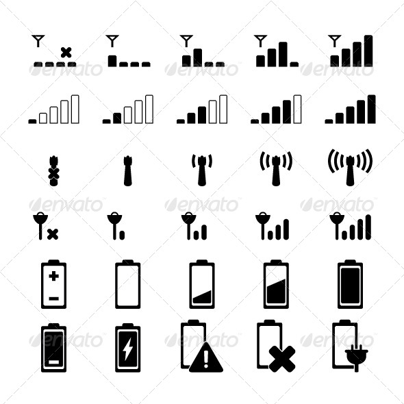 GraphicRiver Indicator Icons 8148599