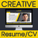 Creative 5 Piece Resume/CV - GraphicRiver Item for Sale