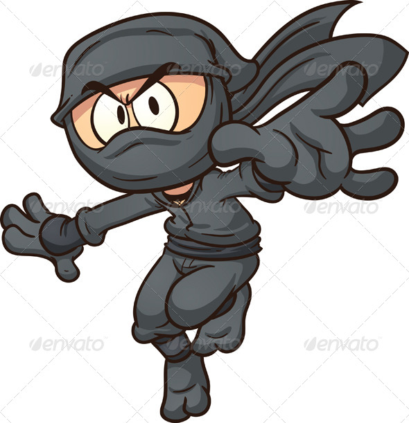 GraphicRiver Cartoon Ninja 8150231