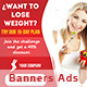 Banners Loss Weight - GraphicRiver Item for Sale