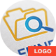 File Finder Logo Template - GraphicRiver Item for Sale