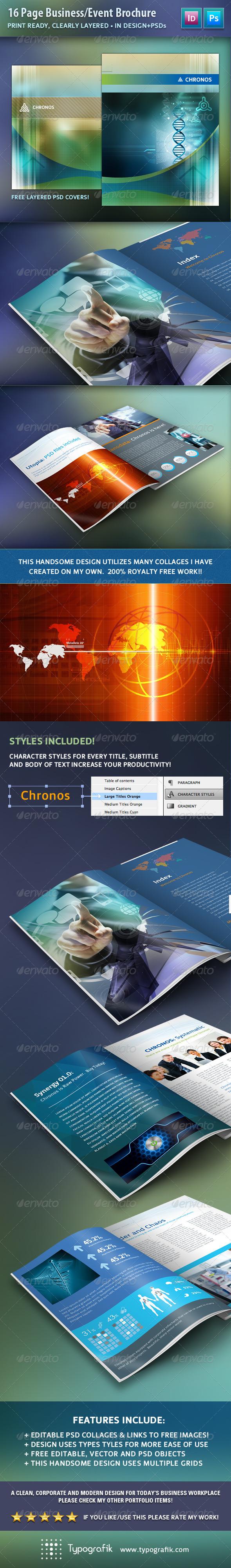 GraphicRiver Chronos Business Brochure 7687446