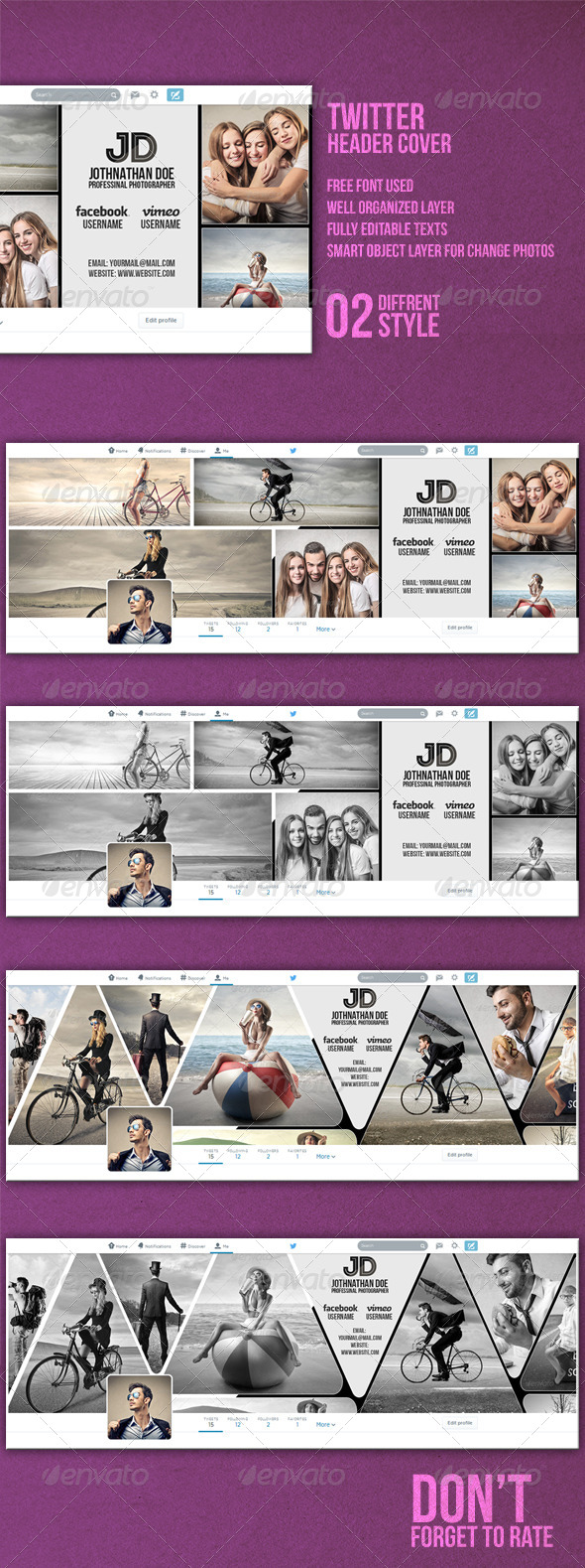 GraphicRiver Twitter Header Cover 8151019