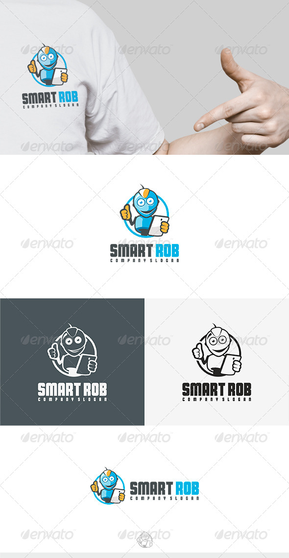 Smart Rob Logo - Humans Logo Templates