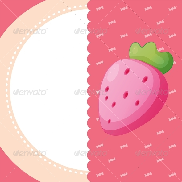 GraphicRiver Strawberry Stationery 8151087