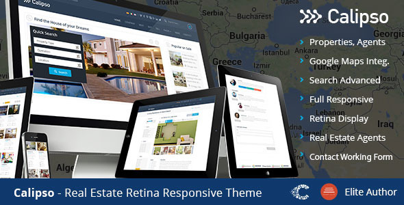 Calipso - Responsive Real Estate Theme - Business Corporate